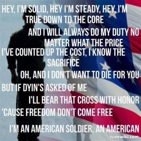 soldier song i like the clubs because we by toby keith like success