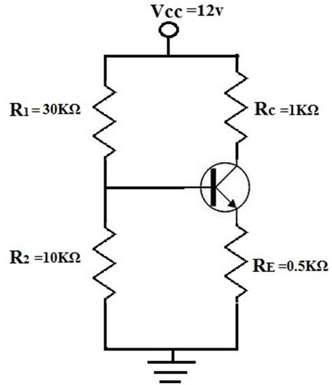 npn transistor q point image gallery transistor calculations