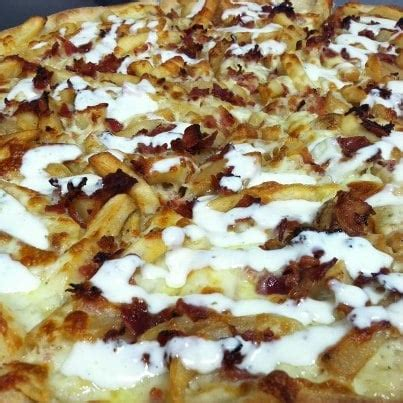 french fry pizza w/ bacon & ranch yelp