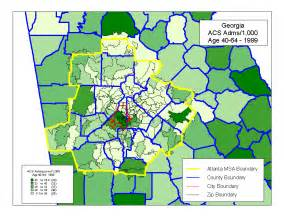 atlanta zip code map zip code map atlanta ga area