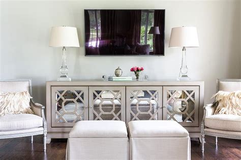 mirrored living room cabinet interior design inspiration photos by the french mix