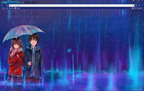 chrome themes rain a rainy day with you chrome theme chromeposta