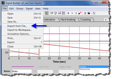 creating test cases using signal builder » guy on simulink