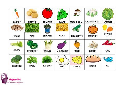 alimenti in tedesco flash cards il cibo food
