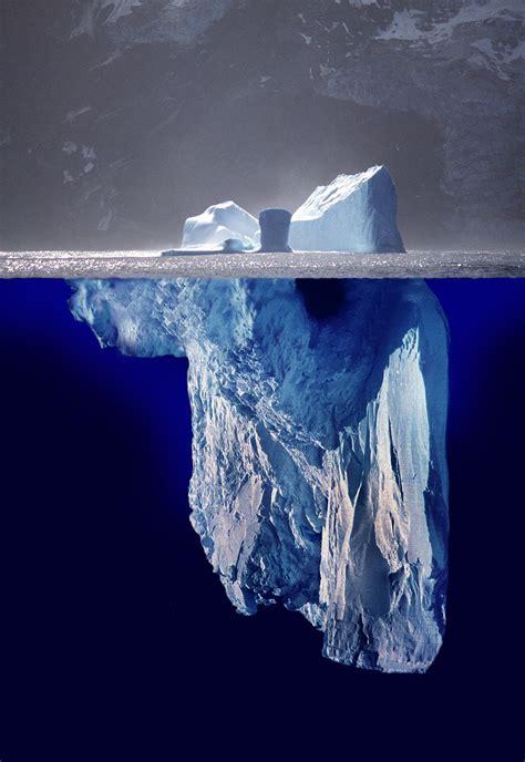 The Iceberg tip of the iceberg wiktionary