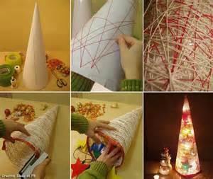 Christmas Tree Decorations To Make At Home Reciclamobel A Vueltas Con La Navidad 2012 13