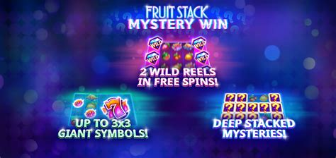 fruit stack mystery win slot demo  play review