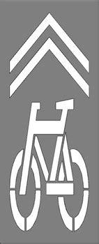 letter stencils printable bike symbol chevrons 107 quot hx39 quot w 1 8 quot plastic 1439