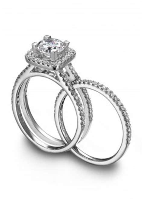 wedding band fits inside engagement ring magic