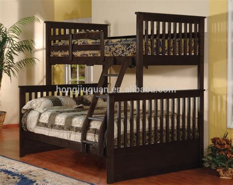 adult size bunk beds solid pine wood twin double bunk bed twin bunk bed for adult full size bunk bed buy