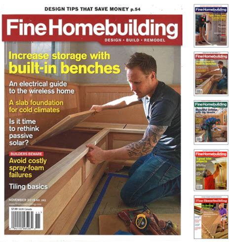 fine homebuilding magazine fine homebuilding magazine on sale just 14 99 73 off