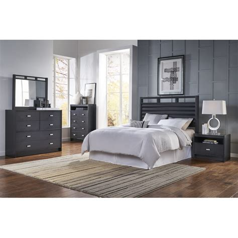 ideaitalia bedroom sets  piece soho queen bedroom collection