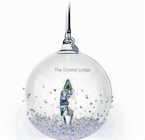 swarovski swarovski 2014 christmas ball ornament 5059023