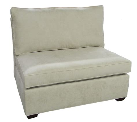 Furniture Sleeper Chair by Sectional Armless Single Sleeper Sofa Carolina Chair
