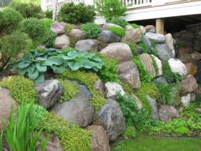 Rock Garden Wall We Need To Plant Ground Cover On And Around The Retaining Walls Garden Ideas