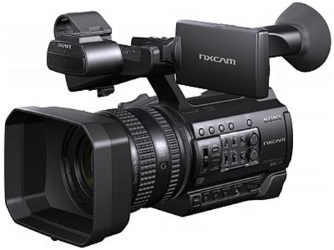 sony > sony hxr nx100 professional video camera now