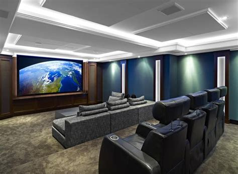 cool blue home theater systems  cedia