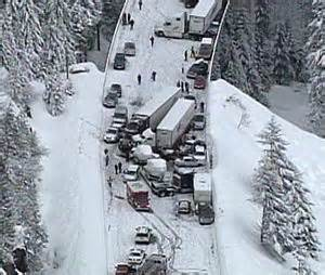 pileup closes westbound i 90 at snoqualmie pass | the