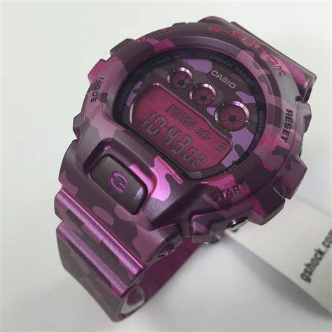 s pink camouflage casio g shock s series