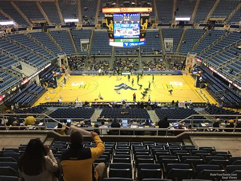 what is section 11 wvu coliseum section 211 rateyourseats com