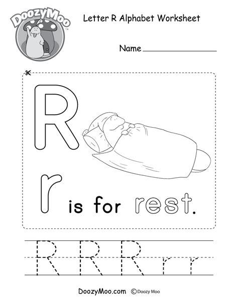 letter r worksheets letter p alphabet activity worksheet doozy moo 1435