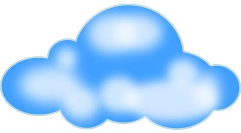 cloud clip art  clkercom vector clip art
