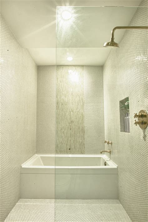 Bathroom Tub And Shower Ideas by Modern Tub And Shower Room Modern Bathroom Denver