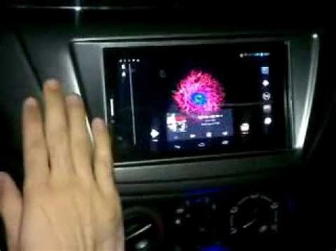 android tablet in my car!  with customized volume control