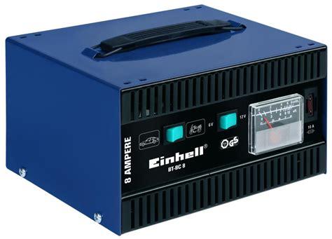 Motorrad Batterie Ladespannung by Einhell Bt Bc 8 Batterieladeger 228 T Umschaltbare