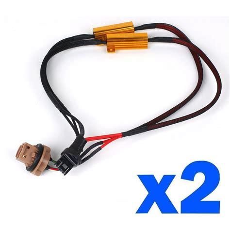 resistor size for led lights resistor size for led lights 28 images 2 x led load resistor turn signal light blinker flash