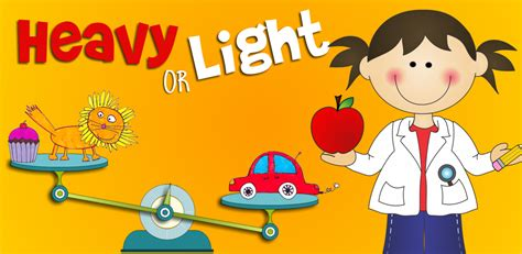 Heavy Light by Heavy Or Light Free Science Appstore For Android