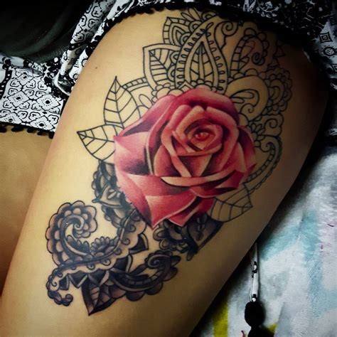 tattoo prices thigh 75 best rose tattoos for women and men to ink rose