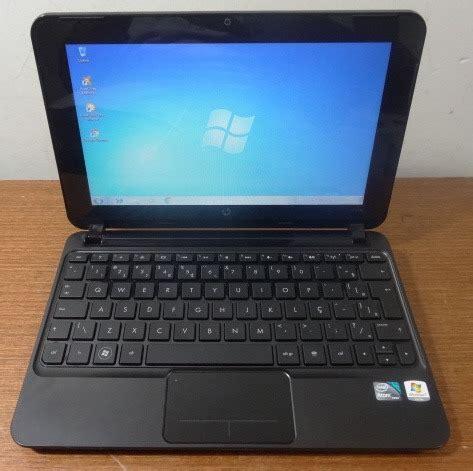 Netbook Hp Mini 210 netbook hp mini 210 intel atom 1 7ghz 2gb hd320gb r 590