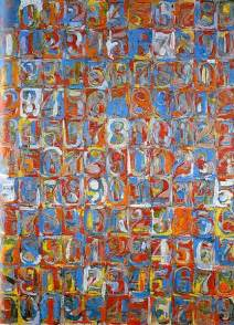 jasper johns numbers in color jasper johns quot numbers in color quot 1959