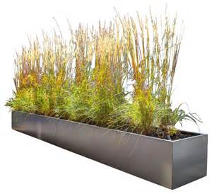 gallery metal rectangular planter modern outdoor