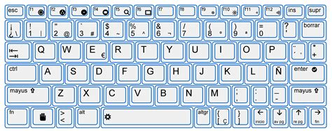 microsoft word spanish keyboard layout image gallery spanish keyboard