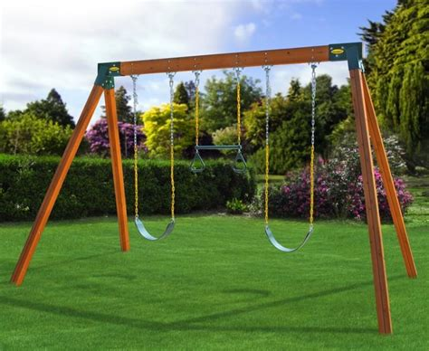 swing set a frame angle com eastern jungle gym easy 1 2 3 a frame swing