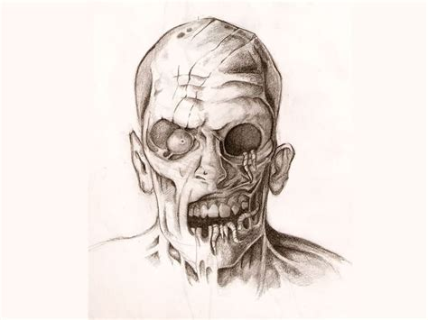 zombie girl tattoo designs zombies drawing how to draw a