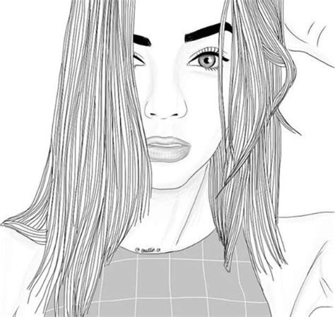 instagram outline tutorial and art black draw drawing edit followme girls