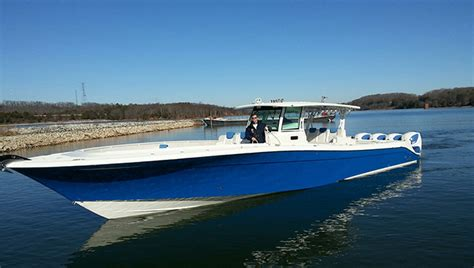 world largest fishing boat hydrasports custom unveils largest center console on the