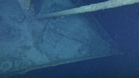 imagenes reales del titanic bajo el mar difunden nuevas fotos y un video del titanic bajo el mar