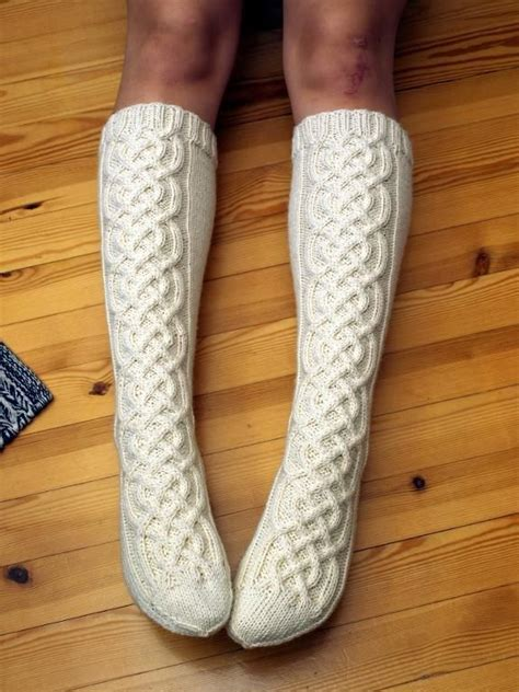 pattern cable socks knitting ideas project on craftsy capel socks hand