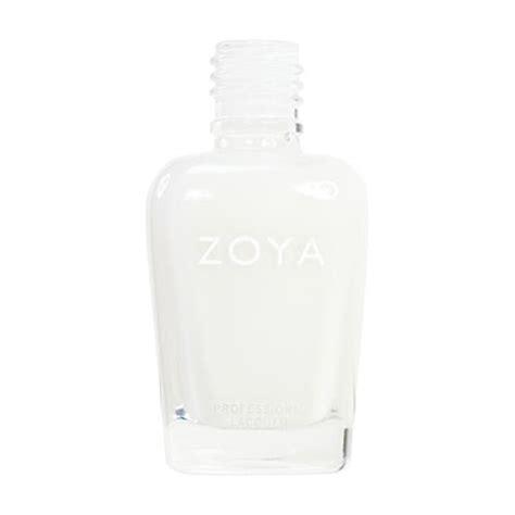 Toner White Zoya Cosmetics Zoya Nail In Snow White Zp114