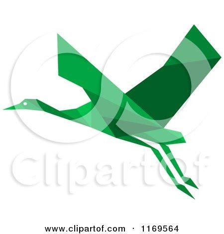 Stork Origami - royalty free rf stork clipart illustrations vector