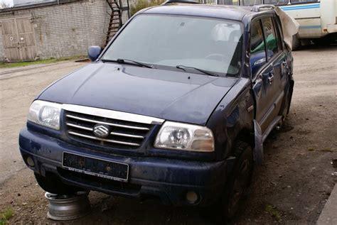 Suzuki Grand Vitara Xl 7 2002 Suzuki Grand Vitara Xl 7 Pictures 2700cc Gasoline