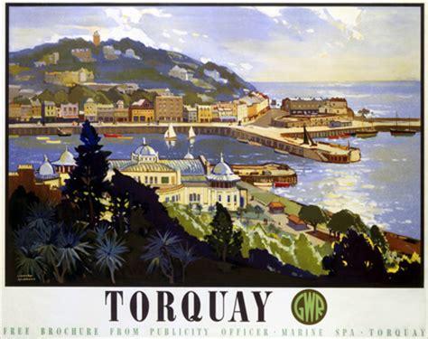 torquay devon. great western railway gwr vintage travel