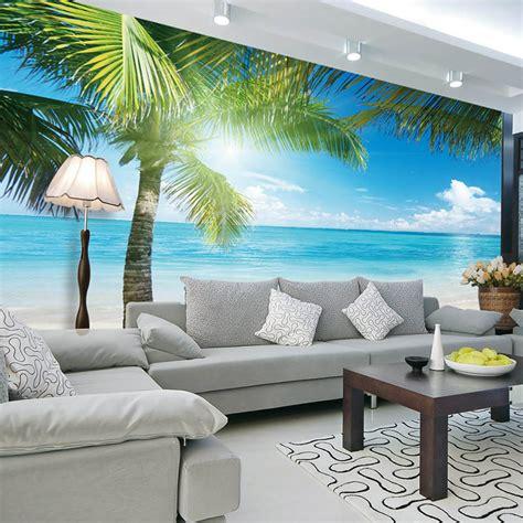 Interior Design Wall Murals by Aliexpress Buy Coconut Tree Photo Wallpaper