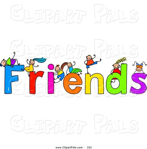 friendship clipart free friendship clip pal clipart of a children with