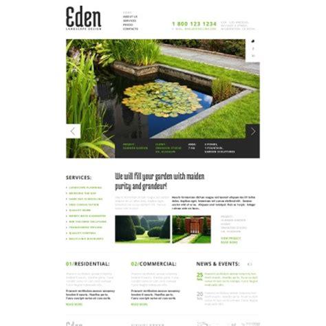Backyard Landscape Design Templates landscape design website templates