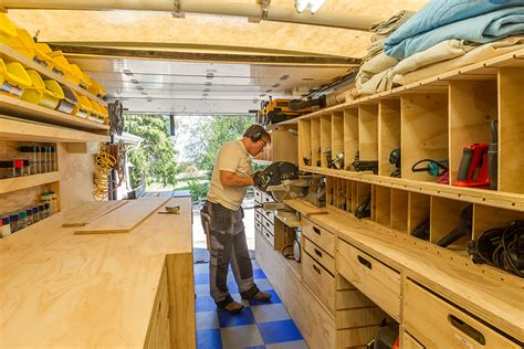 portable woodworking shop woodshop on wheels paulk on the design of his mobile